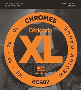 D'Addario ダダリオ ベース弦 フラットワウンド Long Scale .050-.105 ECB82 【国内正規品】