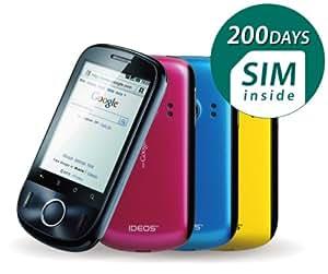 日本通信 IDEOS 200日パッケージ by b-mobile BM-IDEOS-200D
