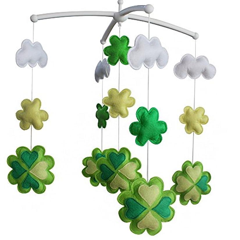 警察水素提供された[クローバー、グリーン]ベビーおもちゃ、カラフルな装飾、ベビーベッドのハンギング