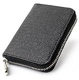 Riorune 小銭入れ コインケース メンズ 財布 ブラック