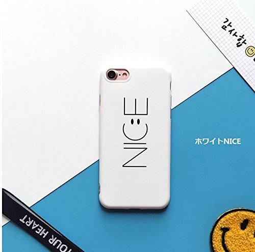 iPhone7 ケース 韓国で大人気!!!英語 NICE ト...