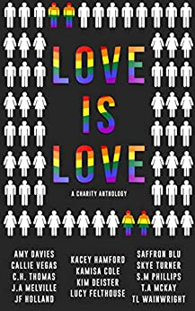 Love is Love: A LGBT Charity Anthology by [Melville, J.A, Wainwright, T.L, Deister, Kim, Felthouse, Lucy, Hamford, Kacey, Davies, Amy, Cole, Kamisa, Thomas, C.H., Blu, Saffron, McKay, T.a, Callie Vegas, S.M Phillips, JF Holland, Skye Turner]