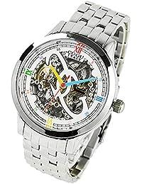 コグ COGU 両面スケルトン 腕時計 並行輸入品 オートマチック ホワイトマルチカラー 3010M-WCL [時計]