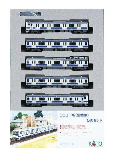 Nゲージ 10-283 E531系常磐線 付属編成  5両