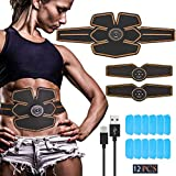 腹筋 ベルト EMS 腹筋パッド 腹筋器具 筋トレマシン ダイエット 腹筋トレーニング 10段階 6つモード USB充電式 男女兼用