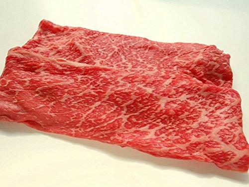 厳選 黒毛和牛 雌牛限定 ギフト用 モモ バラ上牛 すき焼き肉 1Kg( 天然 竹皮 包装 )