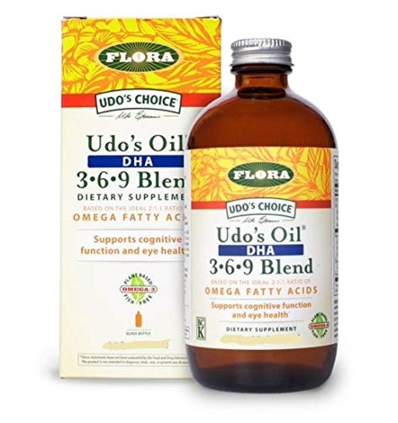 生理囚人不適Udo's Oil DHA 3-6-9 Blend 17 fl.oz