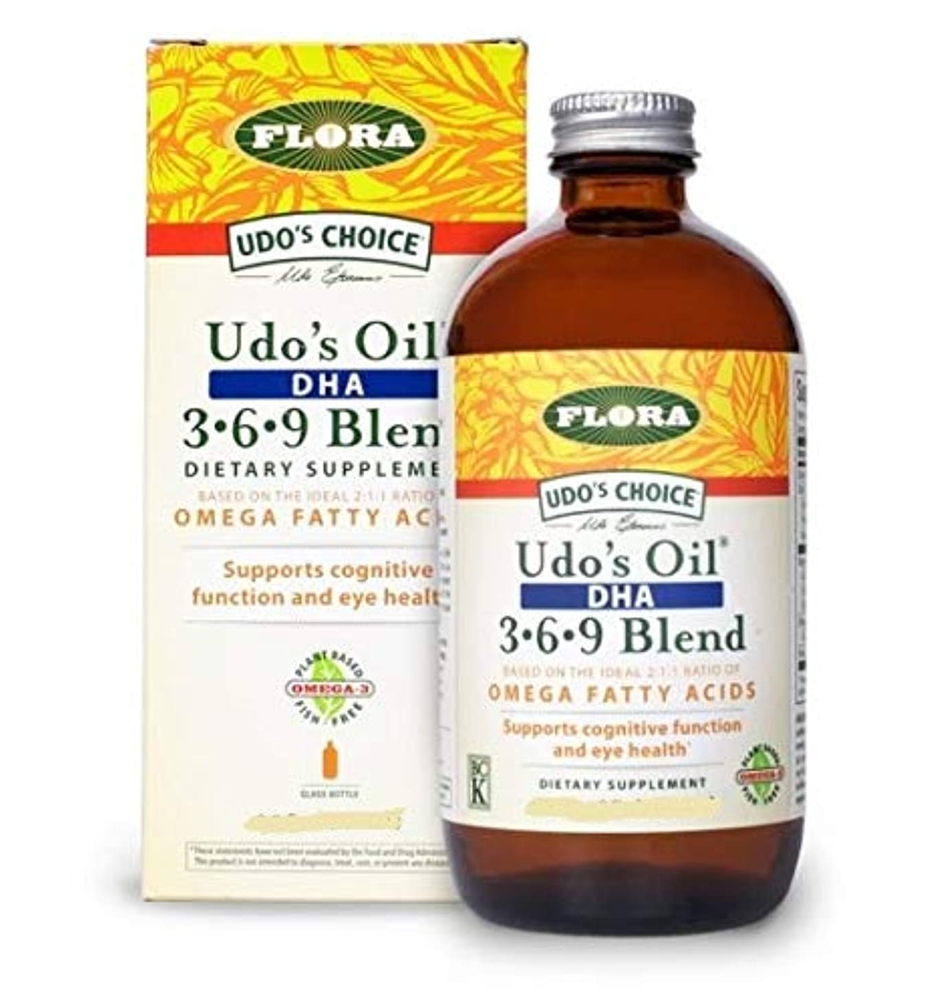 キャリッジリス今後Udo's Oil DHA 3-6-9 Blend 17 fl.oz