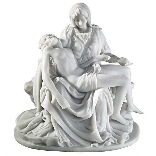Medium大理石樹脂デザイン大理石像ピエタPieta Statue
