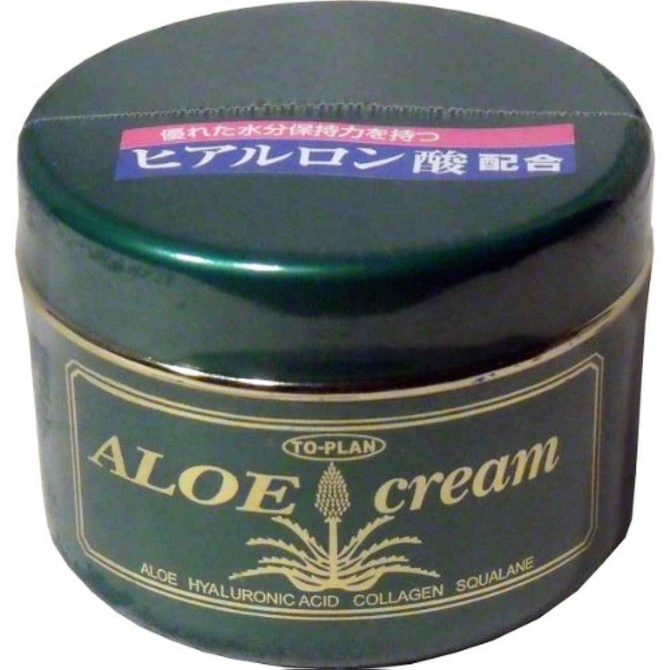 忌まわしいリスト口述するトプラン ハーブフレッシュクリーム(アロエクリーム) ヒアルロン酸 170g ×6個セット
