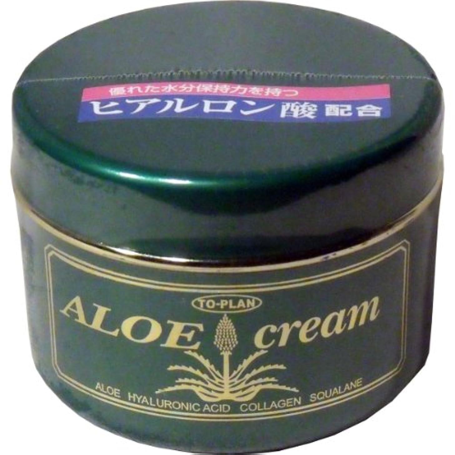 アスペクトヒロイック囚人トプラン ハーブフレッシュクリーム(アロエクリーム) ヒアルロン酸 170g ×10個セット
