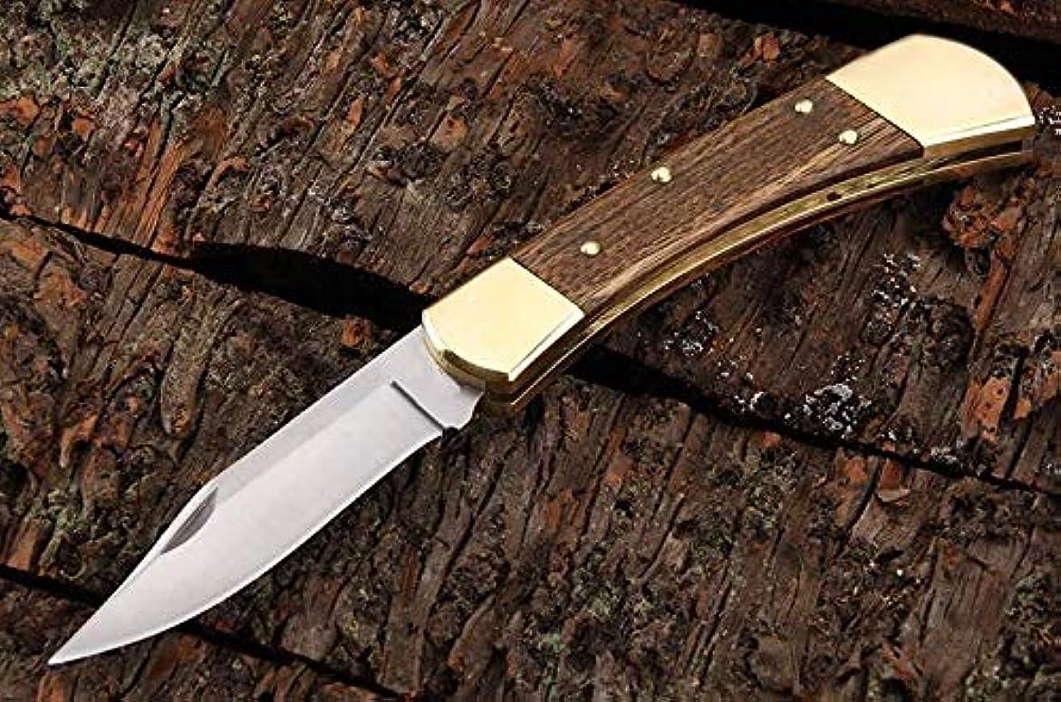 魔法ロードされた充実フォールディングナイフ 専用BOX付き/ハンティングナイフ カスタムナイフ