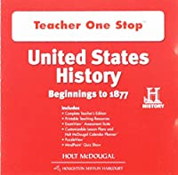 United States History Teacher One Stop DVD-ROM: Beginnings to 1877
