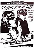 Sonic Youthポスターgoo-live Hollywood Palladium ( 59,5cm X 84cm + 1パックTesa Powerstrips、20ピース