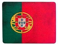レトロ調 ポルトガル国旗 ビンテージ マウスパッド