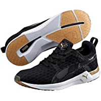 PUMA Women's Pulse Xt V2, Black-Gold,7 Running Shoes