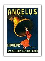 アンジェラス - サレジオ会のリキュール - ビンテージな広告ポスター によって作成された リオネト・カピエロ c.1907 - プレミアム290gsmジークレーアートプリント - 30.5cm x 41cm