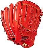 adidas(アディダス) 野球 硬式 グラブ アディダスプロフェッショナル 投手用 ボールドオレンジ×ソーラーゴールド×ゴールドメット BID42