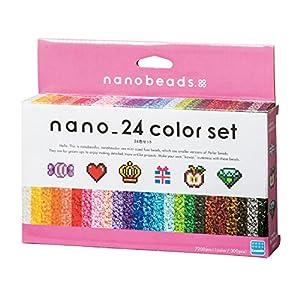 ナノビーズ ナノビーズ 24色セット 80-63044