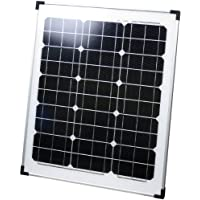 スゴイソーラー 40W SS-40G  ~ バッテリーの充電や12V製品をそのまま動かせる14V仕様。 薄型2.5cmで小柄な女性に合わせたコンパクト設計。 曇りでも発電する単結晶型で19%の高効率~マンションのベランダや庭先で、手軽に太陽光発電が可能タイプ