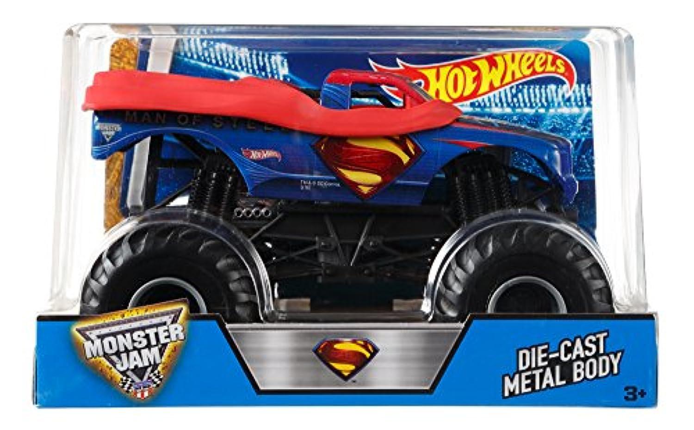Hot Wheels Monster Jam 1:24 Scale Man of Steel Vehicle