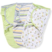 SwaddleMe Original Swaddle 3-PK, Busy Bees (SM) by SwaddleMe [並行輸入品]
