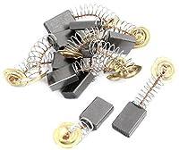 uxcell モーターカーボンブラシ 10個入 ブラシ部 電動ドリル スペア 17 x 11 x 5mm