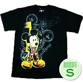キングダムハーツ ミッキーマウス キーTee/Kingdom Hearts Mickey Key T-Shirt ゲームTシャツ S【並行輸入】