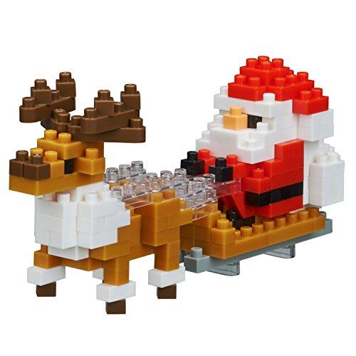 [해외]나노 블록 산타 클로스와 순록 NBC_234/Nanoblock Santa Claus and reindeer NBC_ 234
