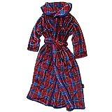 EMMA ROBE エマローブ 着る毛布 BLANKET WEAR チェックレッド L