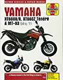 Yamaha Xt660 &Mt-03 Service And Repair Manual: 2004-2011