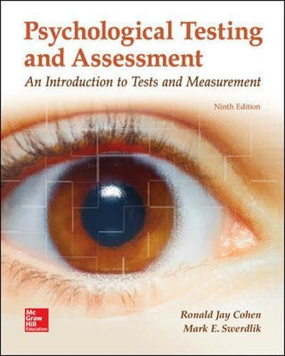 Download Psychological Testing and Assessment 1259870502