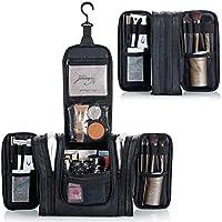 Lizzton Hanging Travel Toiletry Bag for Women & Men, Extra Large Dopp kit Shaving Bag, Water Resistant Multifunctional Bathroom Shower Organizer