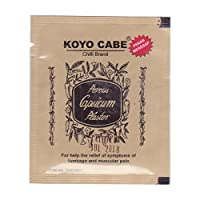 Koyo Cabe Chilli Brand Porous Capsicum Plaster, Standard Size by Chili