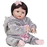 リボーンベビードール 抱き人形 シリコーン ビニール 56cm バービー 着せ替え人形 ままごと 子供玩具 可愛い ベビーケア シリコン 誕生日 プレゼント Hillrong