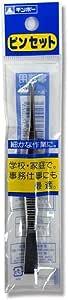 銀鳥産業 ピンセット 370-002 事務用