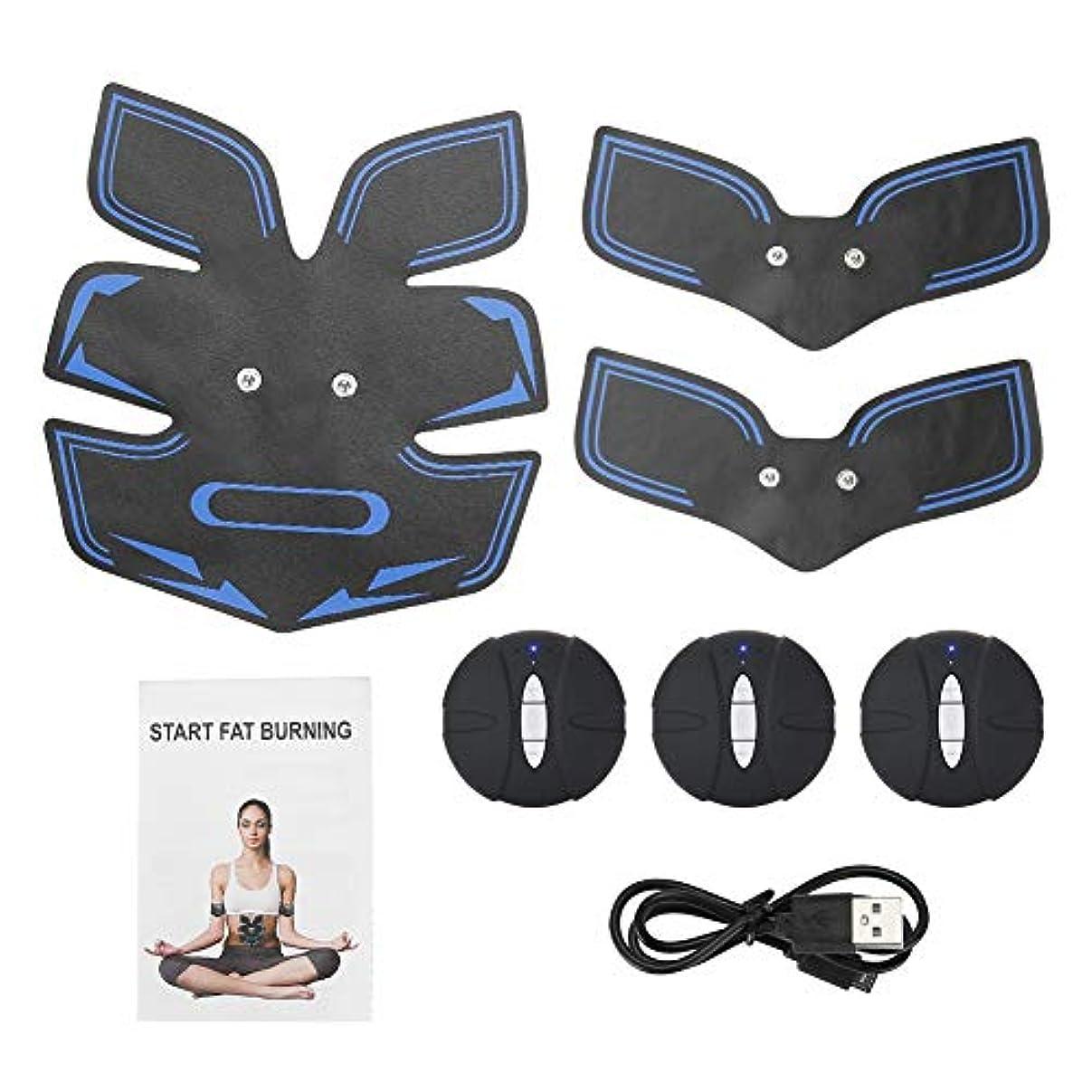 単位驚き外出電気筋肉装置、腹部のマッサージャーは女性および男性のための整形マッサージの効果を達成します