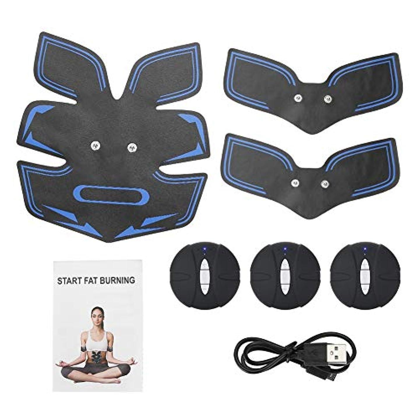 電気筋肉装置、腹部のマッサージャーは女性および男性のための整形マッサージの効果を達成します