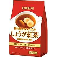日東紅茶 しょうが紅茶 スティック 10本入り ×3個