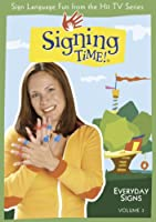 Signing Time! Volume 3: Everyday Signs [DVD] [Import]