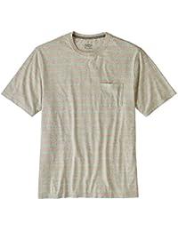 PATAGONIA(パタゴニア) / 半袖Tシャツ / Men's Squeaky Clean Pocket Tee - Sentinel Stripe Birch White / 52790-SEBW / メンズ