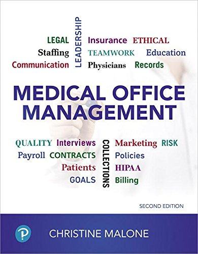 Download Medical Office Management (2nd Edition) 0134868285