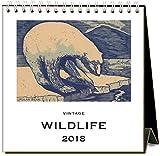 Foundイメージ押しWildlife 2018イーゼルデスクカレンダー
