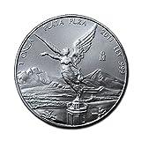 メキシコ リベルタード 2011年 1オンス 銀貨 31.1g シルバー コイン 純銀 カプセル クリアーケース付き