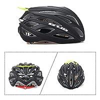Lemonda 自転車 ヘルメット ロードバイク サイクリング ヘルメット 104g 26穴 58-62cm サイズ調整可能 頭守る 男女兼用 4色選択可 (黒/緑)