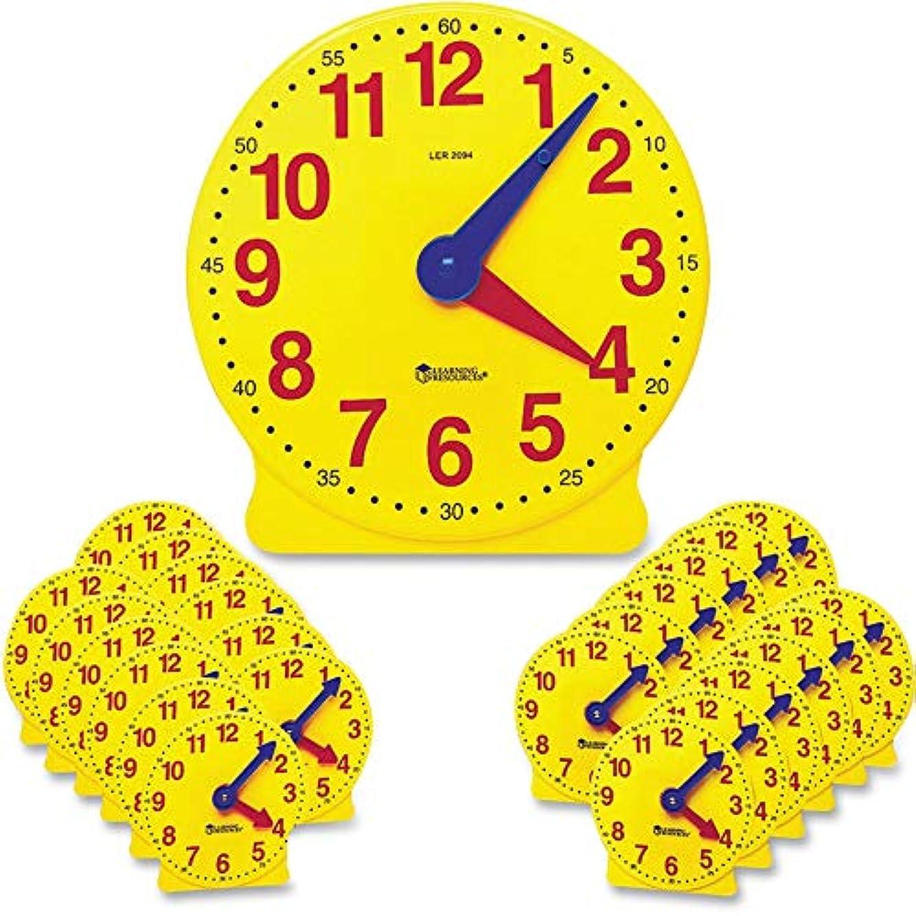薬スタジオ死すべきLearning Resources - Classroom Clock Kit, Learning Clock, for Grades Pre-K-4 - Sold As 1 Set - Demonstrate time-telling concepts while students follow along.