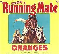Runningメイトオレンジラベル 24 x 36 Giclee Print LANT-4549-24x36