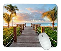 小さなソファビーチサイドマウスパッド オフィスマウスパッド ゲーム用マウスパッド マット マウスパッド