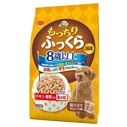 日本ペット ビタワン もっちりふっくら 8歳以上 チキン 野菜入り 960g