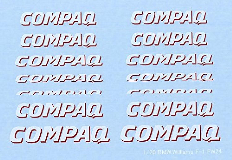 1/20 FW-24 CMOPAQ スポンサーデカール